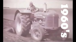 Farming in North Dakota 1960's