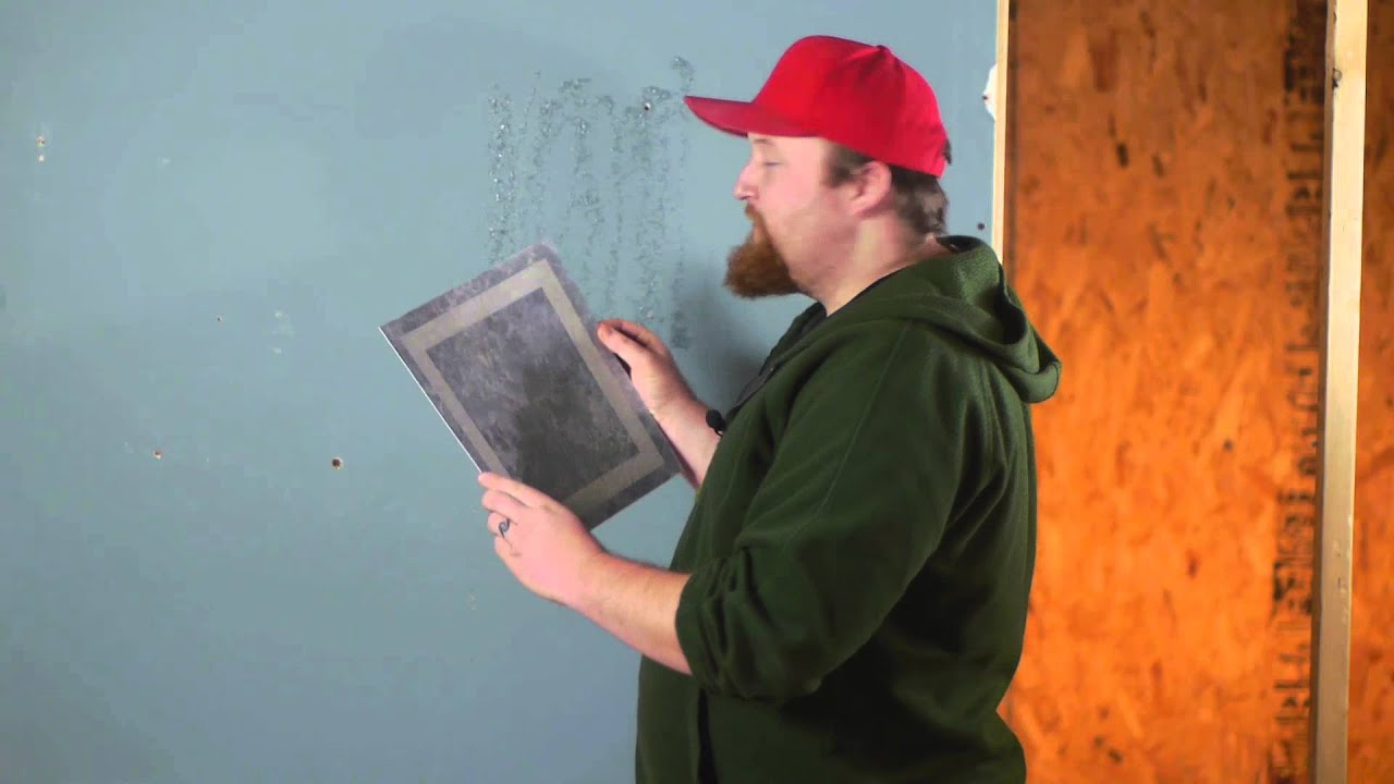 How Get SelfStick Vinyl Tile to Stick to Walls  Flooring