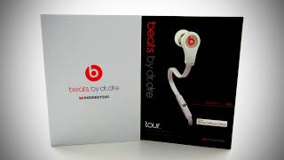 Beats by Dr Dre Tour Unboxing (White)(Buy the Beats Tour here - http://amzn.to/JbzeiV MY 2ND CHANNEL http://youtube.com/beastfeed This is an unboxing of the Beats by Dr Dre Tour in white (also ..., 2011-12-31T04:43:54.000Z)