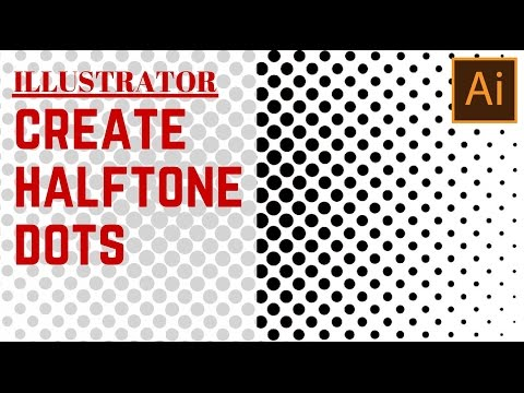 Create A Halftone Dot Pattern In Illustrator Turn A Gradient Inspiration Dot Pattern Illustrator