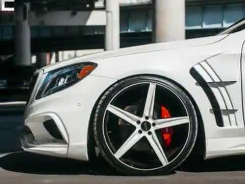Modified Mercedes Benz S550 Mc Customs Boosts Street