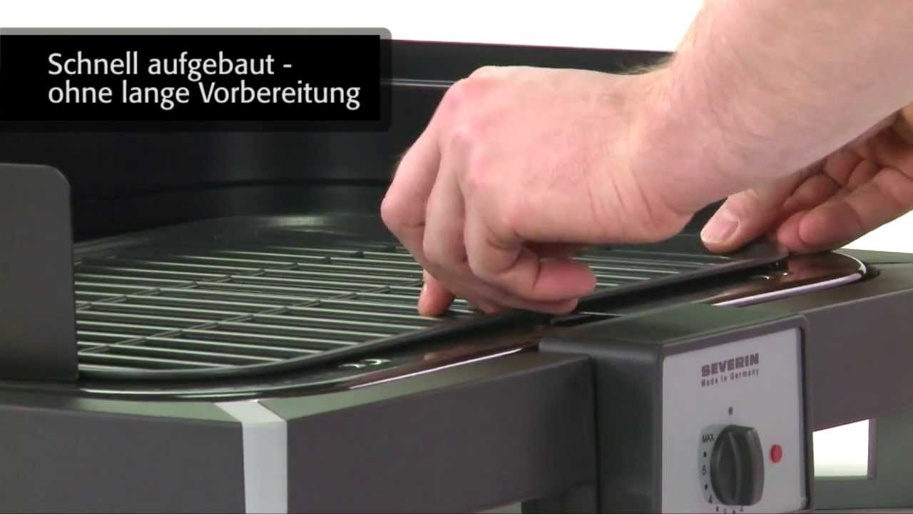 Severin Pg 9320 Barbecue Elektrogrill : Barbecue grill pg 2781 youtube