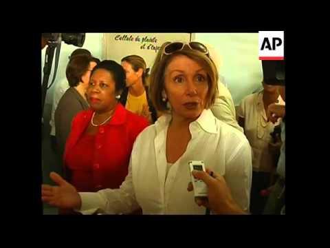 US lawmakers led by House Speaker meet Haitian President
