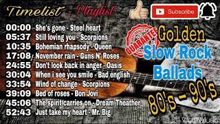Lagu Slow Rock Barat populer dan terbaik 90an