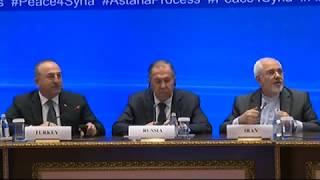 Пресс-конференция С.Лаврова, Астана