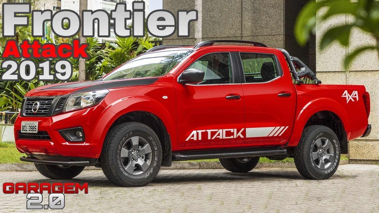 Nova Nissan Frontier Attack 2019 - (Garagem 2.0)