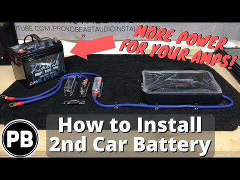 Two battery wiring diagram how to install a second car audio battery in your vehicle cheapraybanclubmaster Gallery
