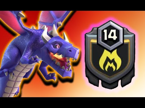 EPIC Dragon Attack Strategy + LEVEL 14 CLAN SPECIAL | WD#34 | Clash of Clans