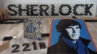 SHERLOCK in 100,000 dominoes thumbnail