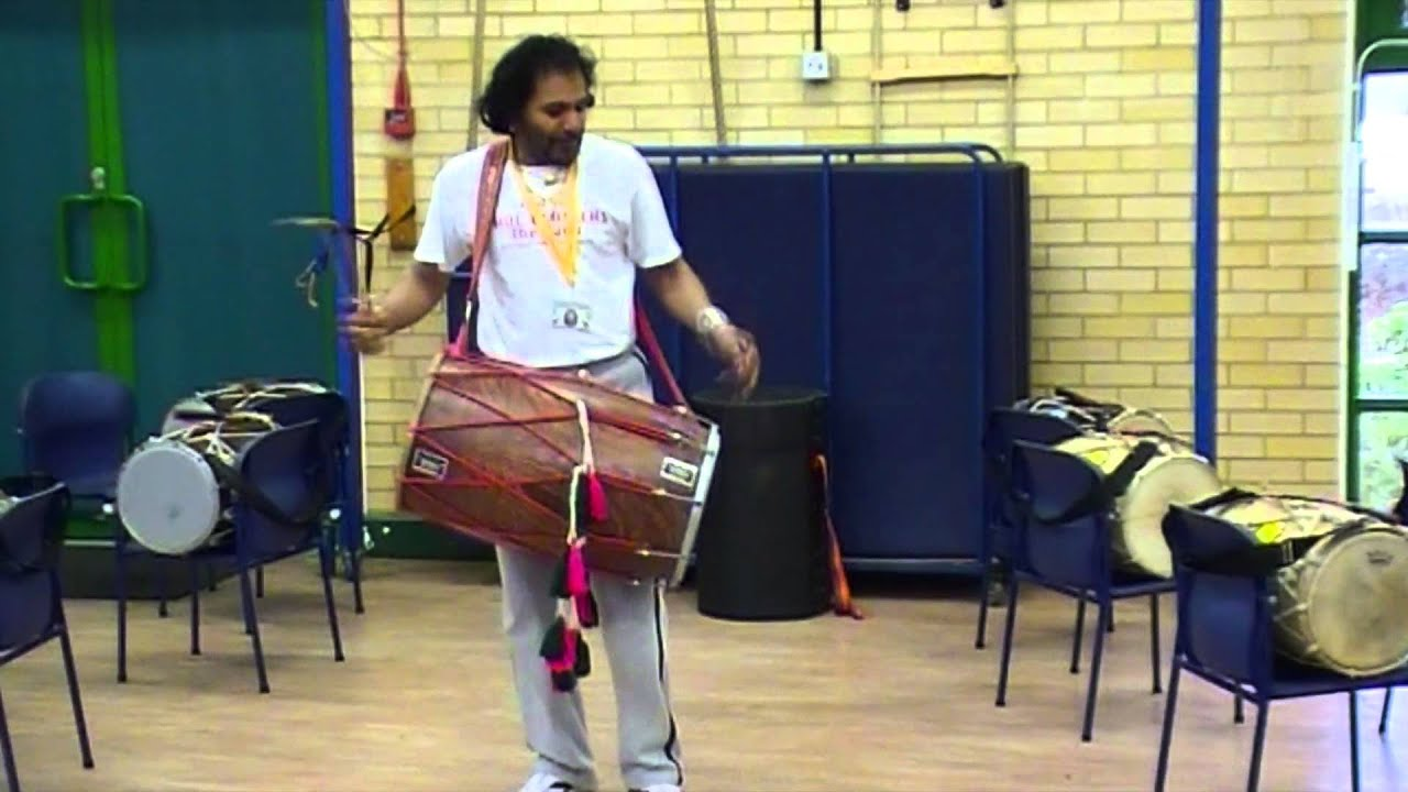 Indian Drumming Workshops for Primary Schools - Keystage 1 and 2