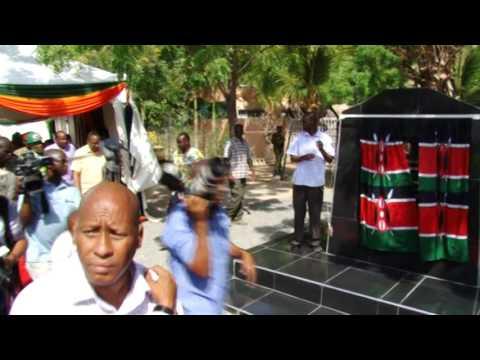 Official Launch of Garissa Roads by H.E President Uhuru Kenyatta