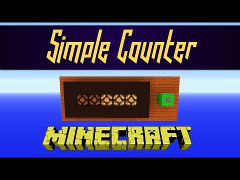Minecraft - Super Simple Counter
