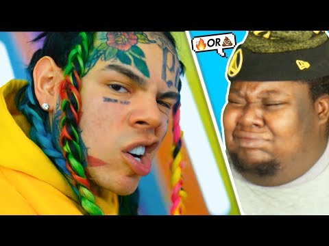 6IX9INE- GOOBA (Official Music Video) REACTION!!!