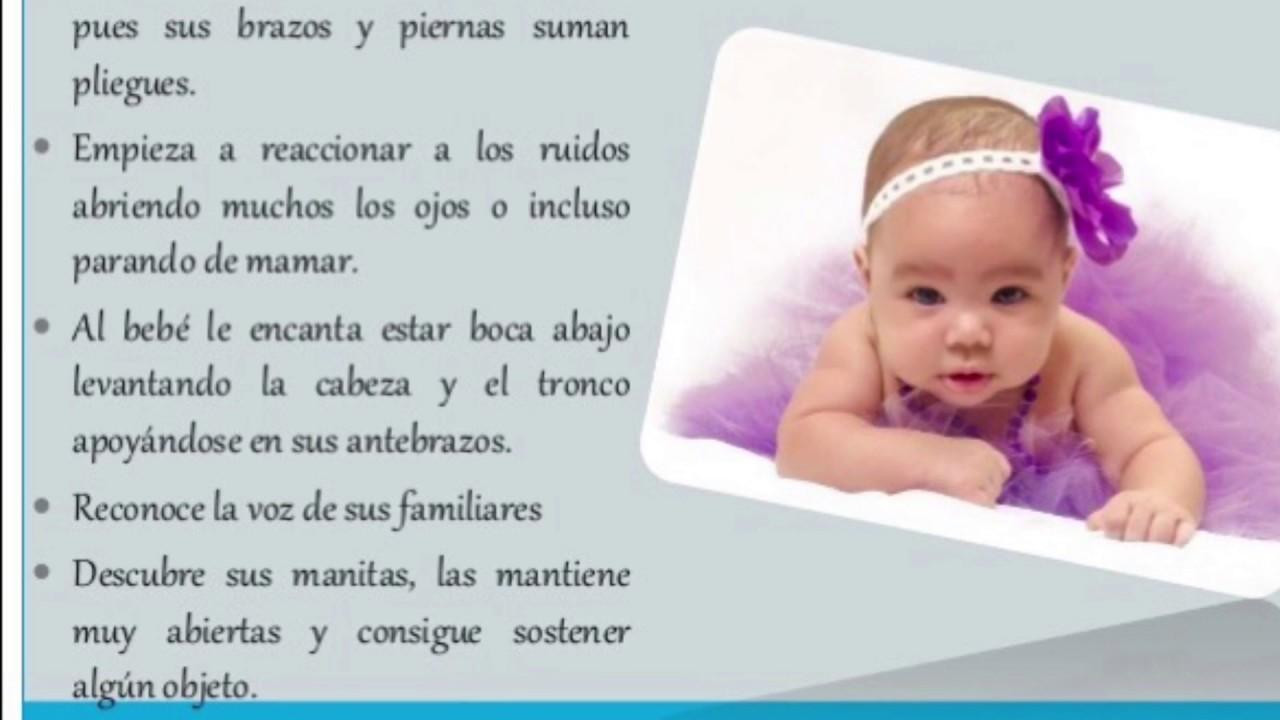 Desarrollo y crecimiento del bebe mes a mes 1 a 6 meses - Desarrollo bebe 6 meses ...