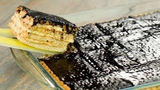 Минимальная затрата сил и средств! Торт который не стыдно подать на праздничный стол! | Appetitno.TV