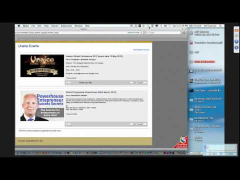 "Webinar (10-03-2012) - ""Unaico Team Dubai Trip"" Short Summary By Atif Kamran URDU (Part 1/2)"