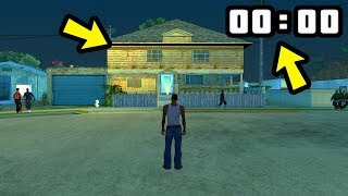 Что творится ночью в доме Сиджея в GTA San Andreas??😱