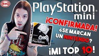 ¡PLAYSTATION MINI CONFIRMED! ¿SONY SE MARCA un NINTENDO? | MI TOP 10