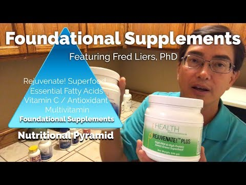 Foundational Supplements -- The HPDI System Of Basic Nutrients For Good Health