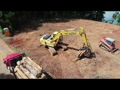 LTS Construction of Huntland TN land clearing project 8