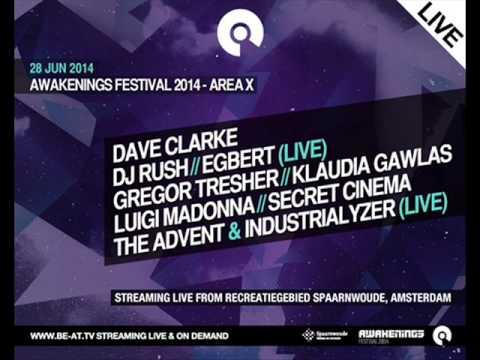 The Advent & Industrialyzer (Live) @ Awakenings Festival 2014, Amsterdam (28-06-2014)