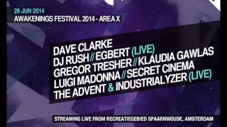 The Advent & Industrialyzer (Live) @ Awakenings Festival 2014, Amsterdam (28-06-2014)