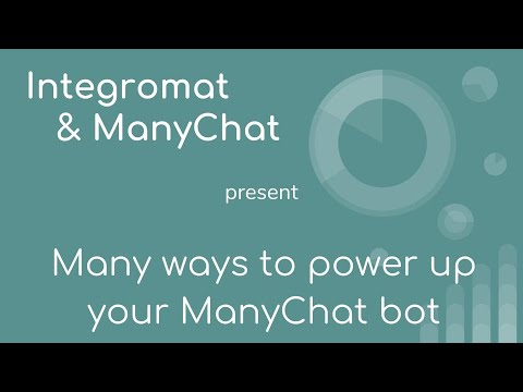 Webinar: Many ways to power up your Messenger bot with ManyChat