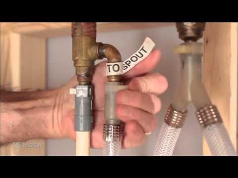 Installing Moens 3Hole Adjustable Roman tub valve