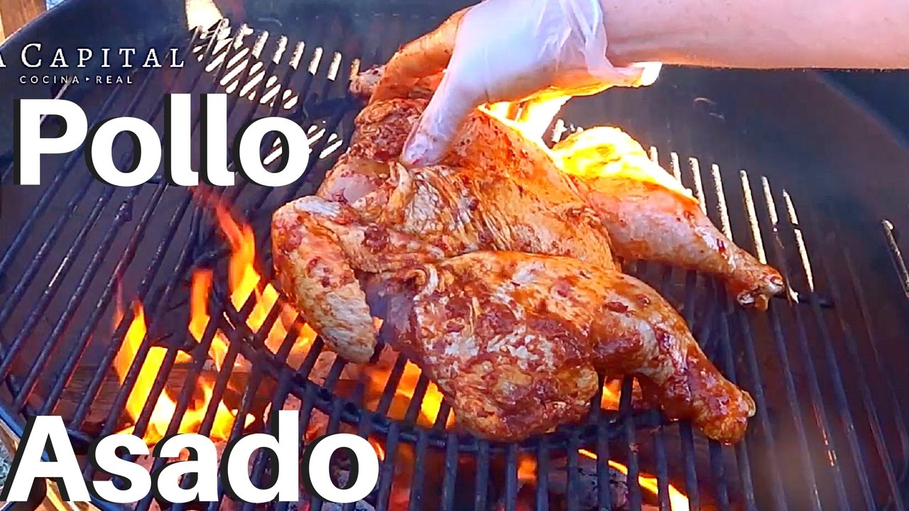 fotos de pollos asados pollo asado adobado marinado 24 hrs la capital youtube 9944