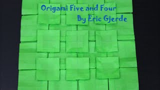 Origami Five and Four (Eric Gjerde) Demo Thumbnail