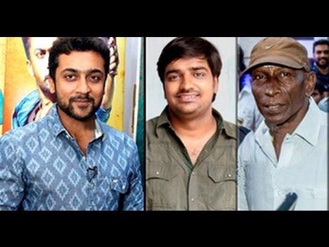 Sathish and Mottai Rajendran joins in suriya's 35th film | Vignesh Shivan | PluzMedia