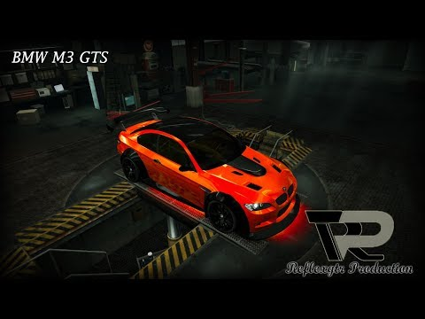 Need for Speed World: BMW M3 GTS Vinyls Tutorial
