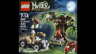 обзор набора Lego Monster Fighters 9463 Нападение Оборотня