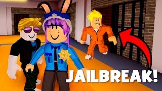 ROBLOX JAILBREAK GAMEPLAY | RADIOJH GAMES & GAMER CHAD