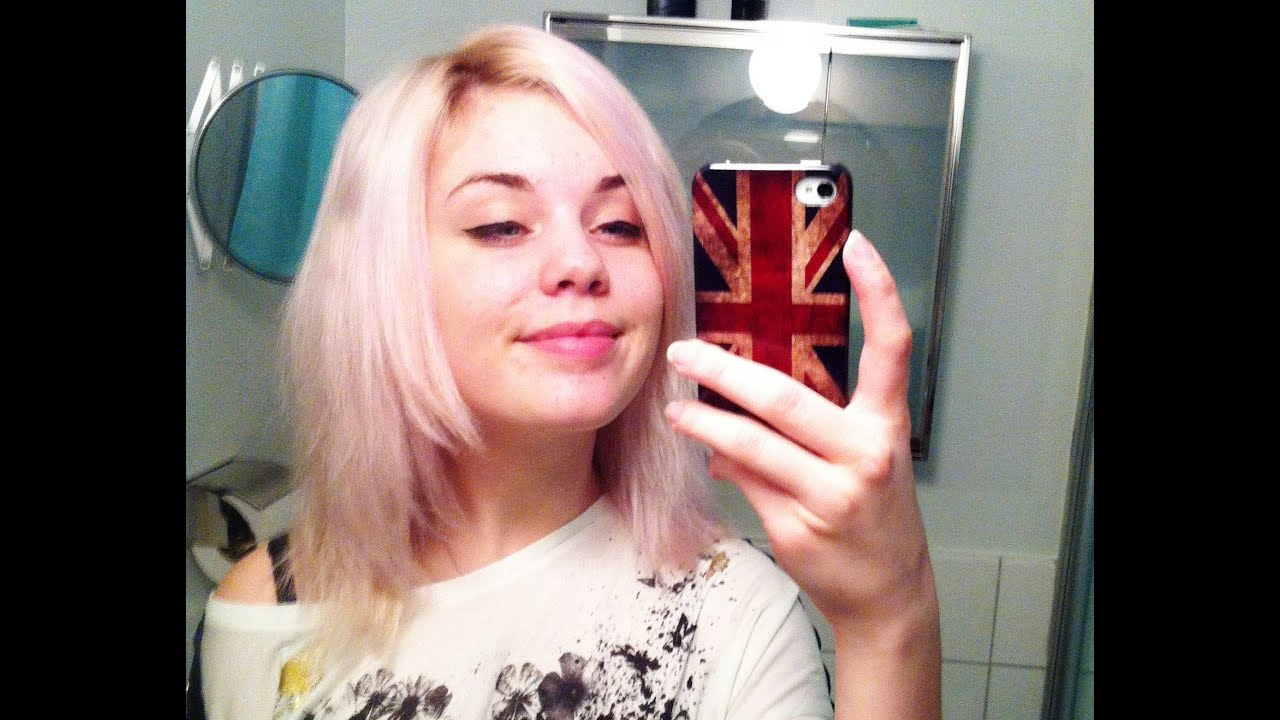 Dying My Hair Pastel Pink With L Oréal Préference Soft Rose You