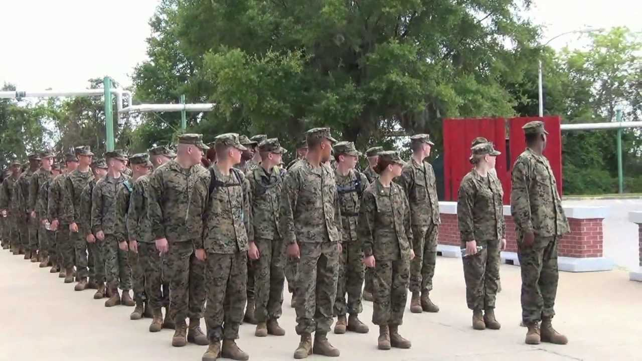 Carvers Bay High School MCJROTC Goes To Parris Island ...