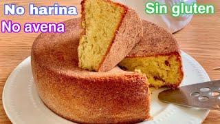 Sustituye el pan con 3 ingredientes  pastel riquísimo sin harina sin gluten