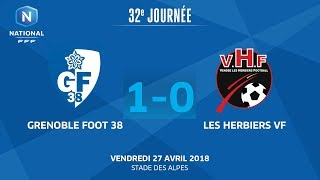 Grenoble vs Les Herbiers full match