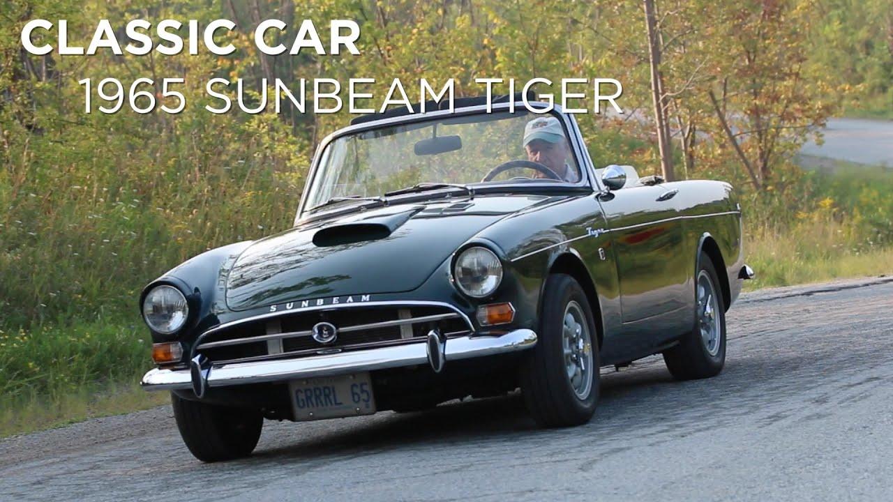 Classic Car 1965 Sunbeam Tiger Driving Ca