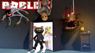 WE VISIT THE MONSTER HOUSE?! - Roblox [English/HD]