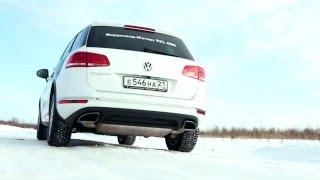 Volkswagen Touareg 2015 Тест драйв и обзор от Anton Avtoman
