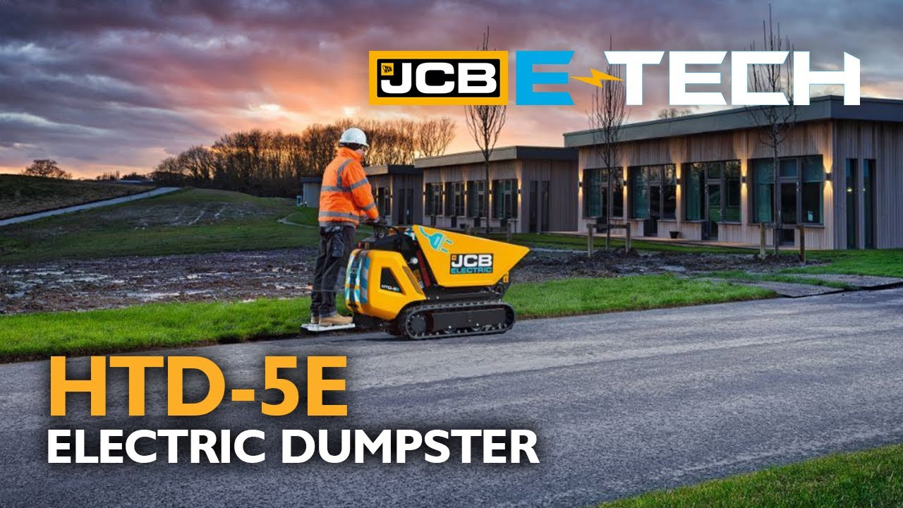 JCB Electric HTD-5E High-Tip Tracked Dumpster