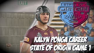 KALYN PONGA CAREER - Rugby League Live 4 - SOO Debut! Game 1