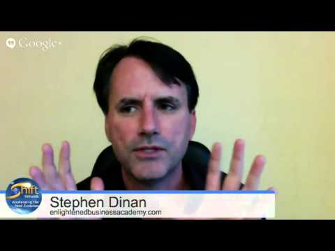 Q&A with Stephen Dinan (CEO of The Shift Network) -- Enlightened Business Academy (EBA)