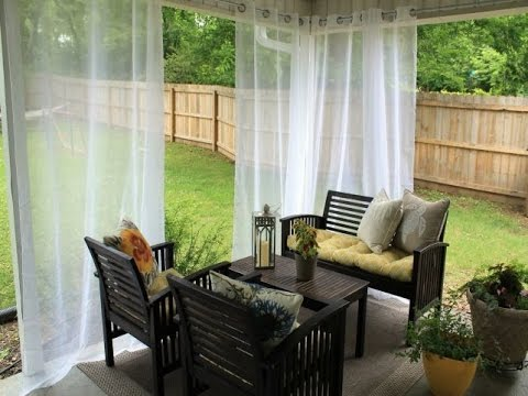 Merveilleux Embellish Your Outdoors With Ikea Outdoor Curtains