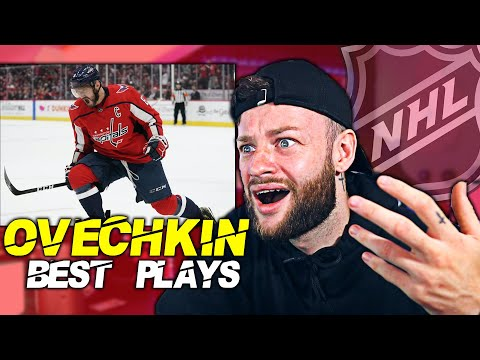 SOCCER FAN REACTS TO: ALEX OVECHKIN BEST PLAYS