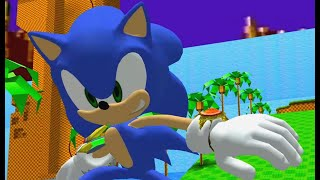 Smash Wii U Sonic in Sonic Adventure 2