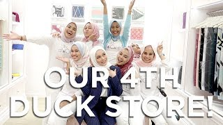 Our 4th dUCk store! | Vivy Yusof