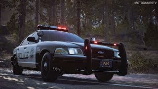 Need for Speed Payback - LV365 Police Ford Crown Victoria - Race Gameplay