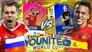 FIFA 18: YOUnited World Cup | Tisi Schubech vs PaatoFIFA | Russland vs Spanien | 1.Gruppenspiel